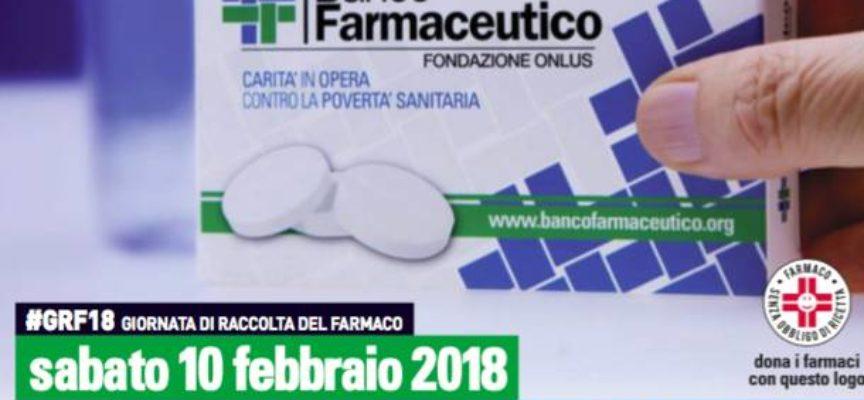 Sabato  10 febbraio la giornata della raccolta dei farmaci