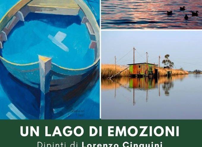 LUCCA SABATO 17 FEBBRAIO hotel Napoleon collettiva di foto e quadri dal titolo Un lago di emozioni