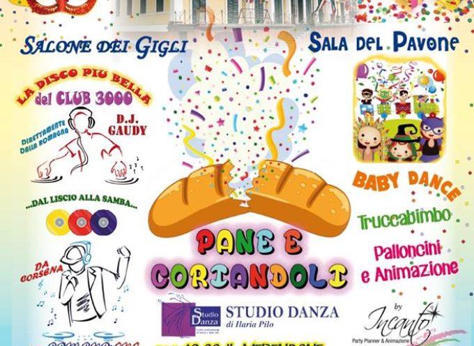 Pane e Coriandoli DOMENICA 18 A  Bagni di Lucca