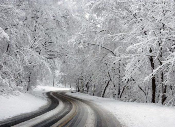 Avviso meteo di Livello Giallo per neve della Protezione Civile Regionale per la Mediavalle