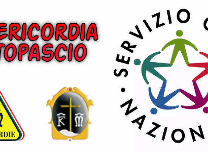 Misericordia di Altopascio, al via il bando per il servizio civile regionale