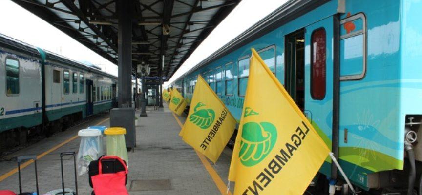 ViviMed sala a bordo del Treno Verde di Legambiente