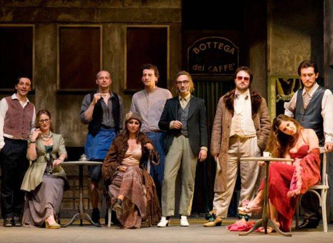 """al Teatro Accademico di Bagni di Lucca sarà di scena """"La Bottega del Caffè"""" di Carlo Goldoni,"""