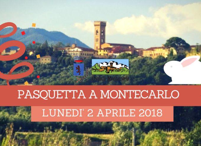 Vi aspettiamo come da tradizione per pasquetta a Montecarlo.