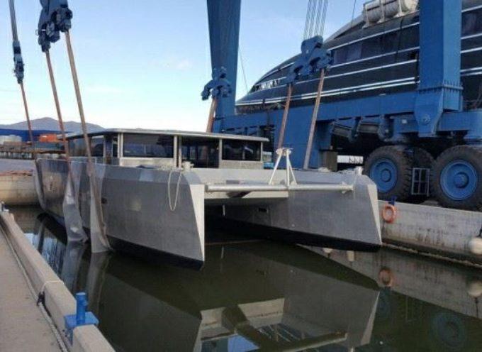 Si chiama Elianto ed è un catamarano molto speciale.