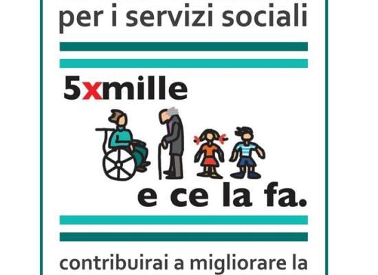 con la dichiarazione dei redditi IRPEF 2018 è possibile destinare il 5×1000 ai progetti sociali del comune di residenza