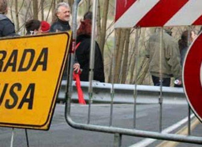 RALLY DEL CIOCCO 2018 , chiusura stradale