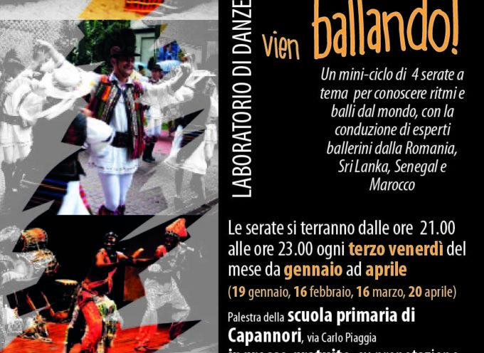 VENERDI' 16 MARZO LABORATORIO DI DANZE ETNICHE  SUI BALLI MAROCCHINI