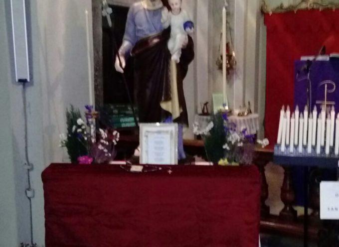 La parrocchia di Borsigliana festeggia quest'anno solennemente il suo compatrono San Giuseppe