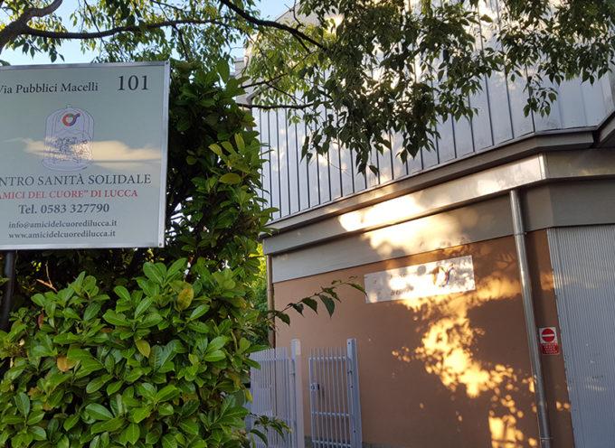 """La Fondazione Toscana """"Gabriele Monasterio"""" per la ricerca medica e di sanità pubblica e il Centro di Sanità Solidale degli """"Amici del Cuore"""" di Lucca firmano convenzione per cardiologia, cardiochirurgia e altre specialità sanitarie."""