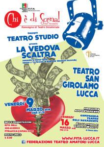 Chi è di scena - San Girolamo 2018 - Locandina 9 marzo - web