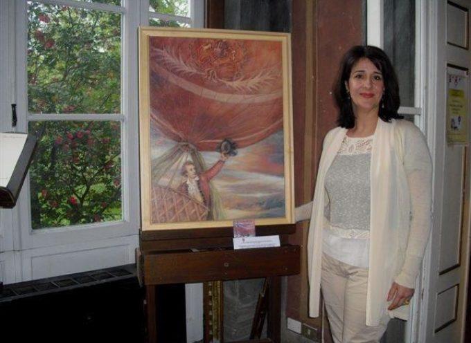 SABATO 10 MARZO personale di pittura dell'artista lucchese Cinzia Coronese alle Camelie