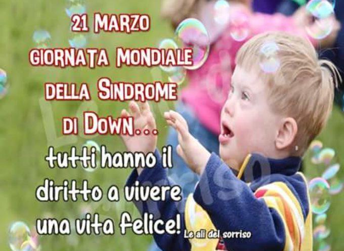 IL 21 MARZO PROSSIMO SARA' LA GIORNATA MONDIALE DELLA SINDROME DI DOWN!