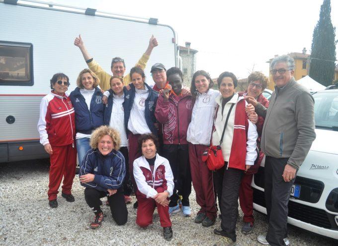 Il Gs Lammari rosa protagonista agli italiani di Gubbio centrando la top ten nazionale.