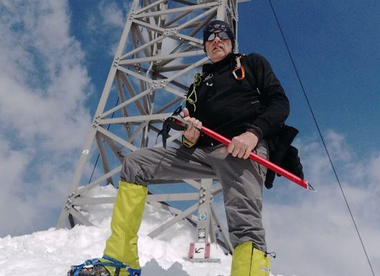 Escursione fra neve e ghiaccio sui monti Spigolino (m. 1827), Cupolino (m. 1852), Cornaccio (m. 1881), Corno alle Scale (m. 1945)