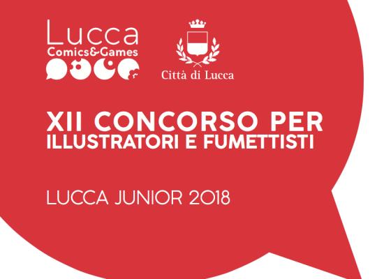 Presentato alla fiera del libro per ragazzi di Bologna il nuovo bando  del concorso di per illustratori e fumettisti di Lucca Junionr 2018