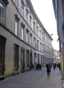 Istituto Passaglia via Fillungo
