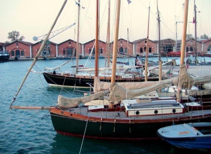 Vela d'epoca: Raduno I Venturieri all'Arsenale di Venezia per i 30 anni dell'Associazione – 26-27 maggio 2018