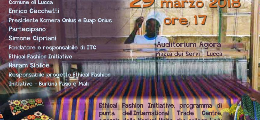 Domani 29 marzo all'Agorà si parla di una moda più equa con il progetto Ethical Fashion Initiative