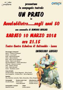 Locandina Un Prato spettacolo 10-03-18