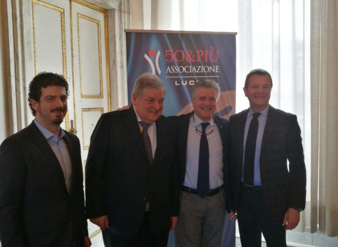 """L'ASSOCIAZIONE 50 & PIU' PREMIA I """"MAESTRI DEL COMMERCIO"""""""