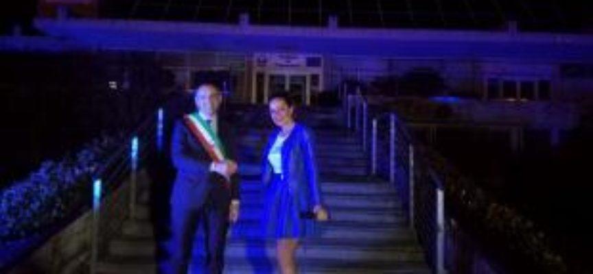 Il Comune di Capannori si illumina di blu