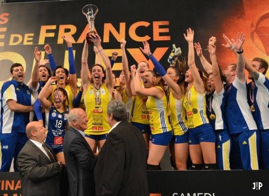 Nadia Centoni trascina il Cannes alla vittoria in Coppa di Francia