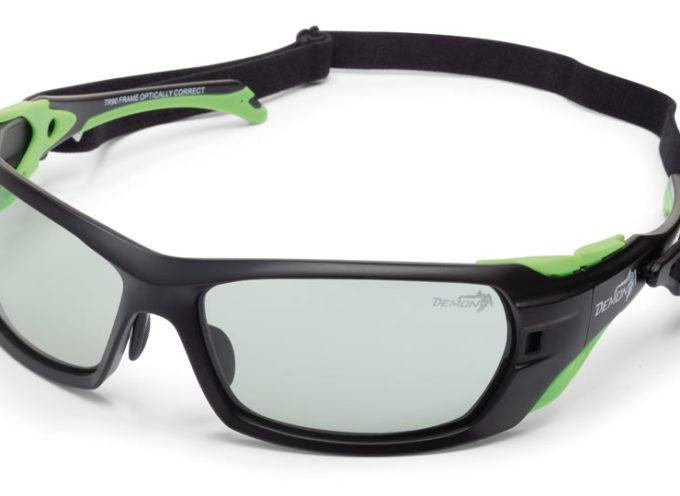 MASTERPIECE Occhiale da Alpinismo Lenti Fotocromatiche Categoria 2 4 Nero Opaco Verde