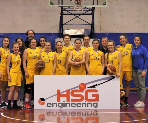 Tre vittorie e una sconfitta nell'ultimo turno di campionato per le squadre del Basket Femminile Porcari.