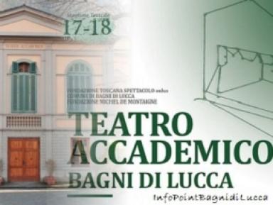 Teatro Accademico.. L'Allegra Vedova, A Bagni di Lucca