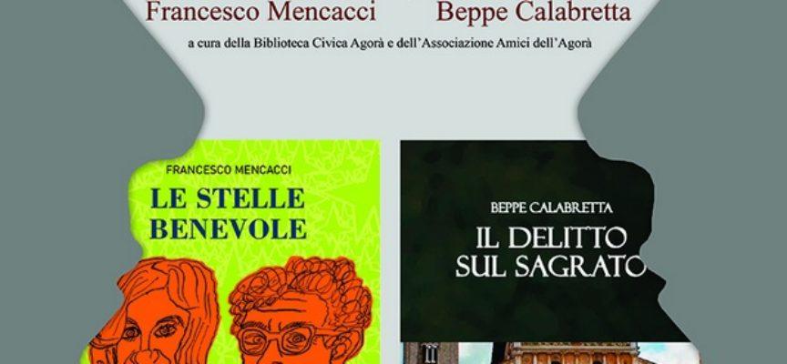 Doppia presentazione di libri alla Biblioteca civica Agorà:
