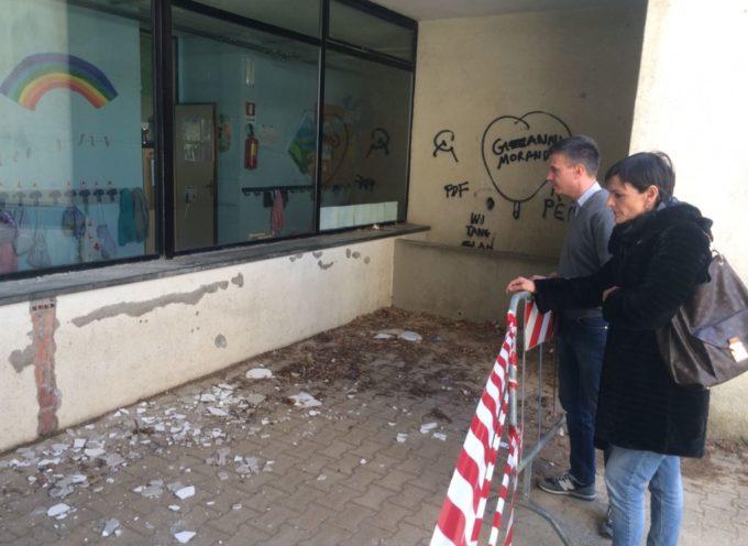 """Forza Italia: """"Crollati calcinacci alla scuola primaria di Ponte a Moriano"""""""