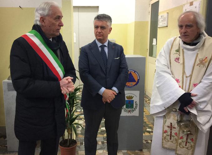 Cerimonia di commemorazione dei Comandanti Piloti Stefano Bandini e Claudio Rosseti A  seravezza