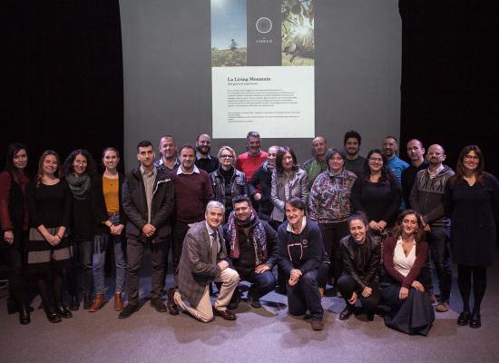 E' stato presentato nei locali del Ciocco Studios il calendario 2018 delle escursioni e attività in programma nella montagna del Ciocco