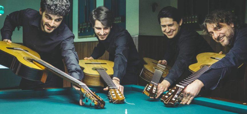 """""""Boccherini Guitar Quarter"""" in concerto a Villa Paolina"""