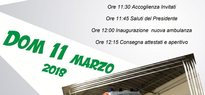 Domenica 11 marzo l'inaugurazione di un nuovo automezzo e di un nuovo defibrillatore, A GHIVIZZANO