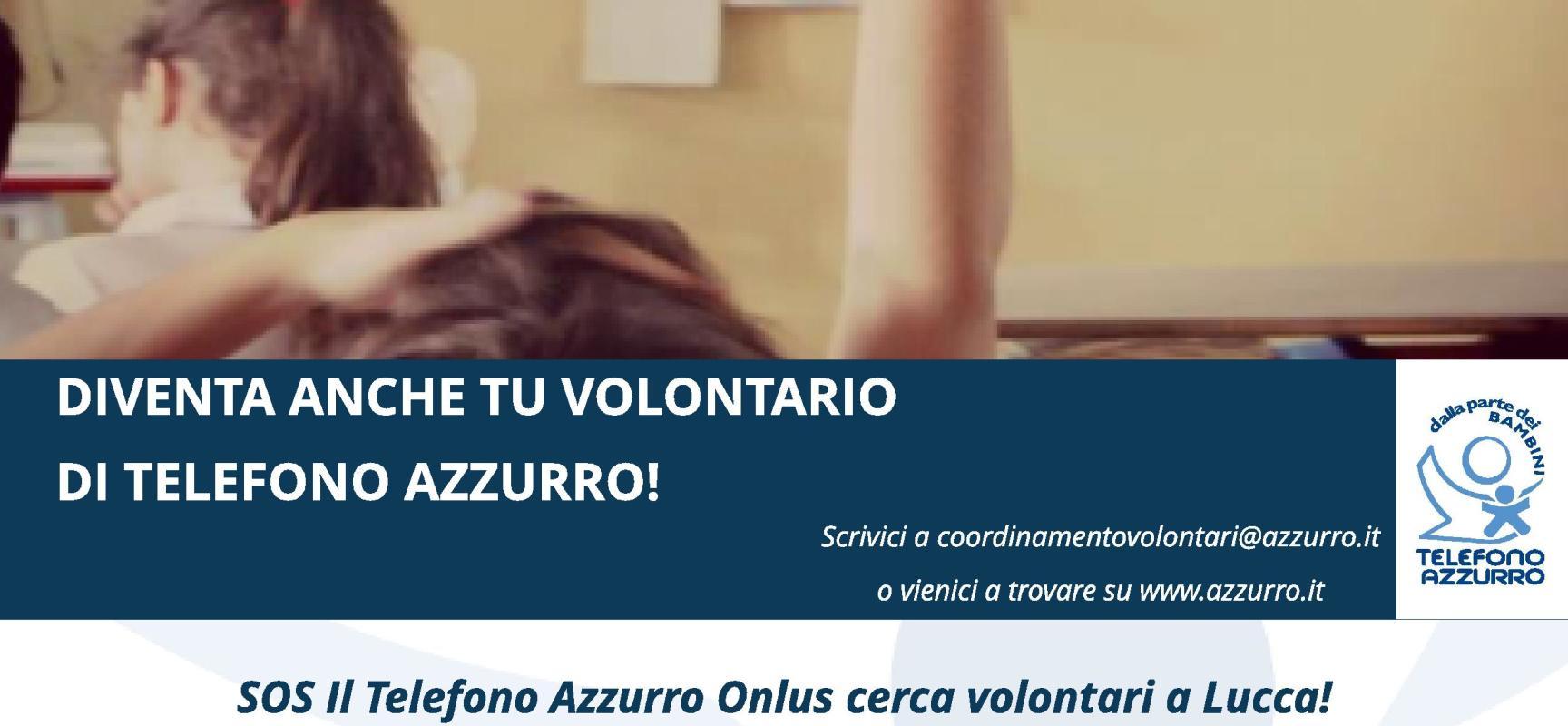 TELEFONO AZZURRO ANCHE A LUCCA