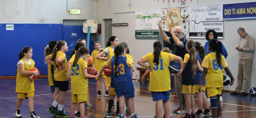 oach Cremonini insegna basket per tre ore a Porcari