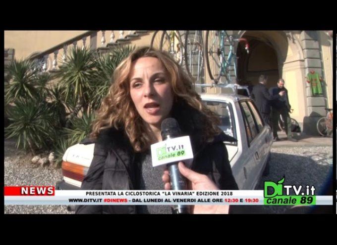 """Presentata la ciclostorica """"La Vinaria"""" edizione 2018[video]"""