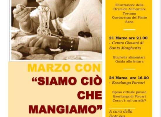 'SIAMO CIO' CHE MANGIAMO', SABATO 24 MARZO INCONTRO ALL'ESSELUNGA DI PORCARI