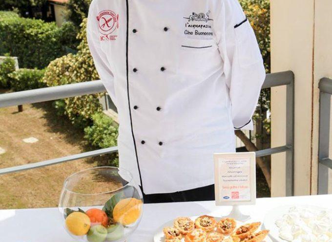 Lucca: un corso di cucina senza glutine con lo chef Gino Buonocore