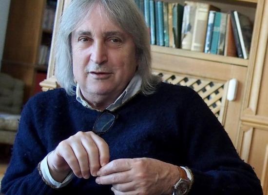 """lo sceneggiatore e regista ENRICO VANZINA presenta il libro """"La sera a Roma"""""""