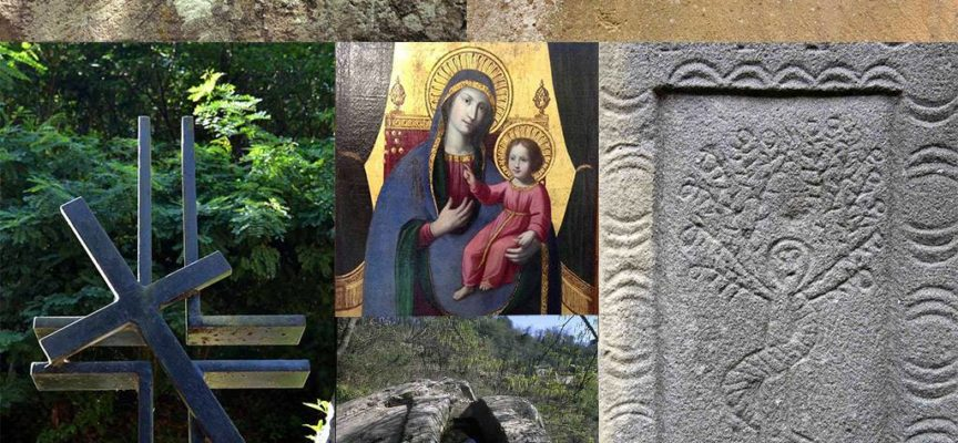 Madonna delle solca il bacio delle croci e le spade selvane