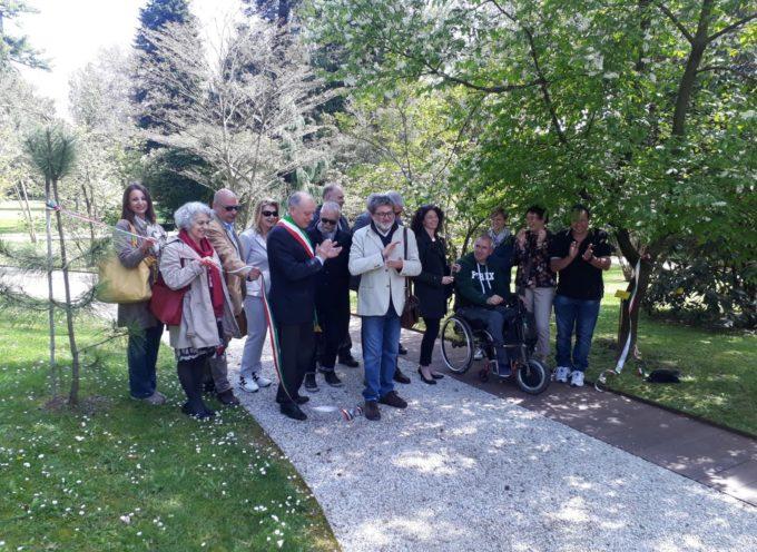 inaugurato il nuovo percorso accessibile all'Orto botanico