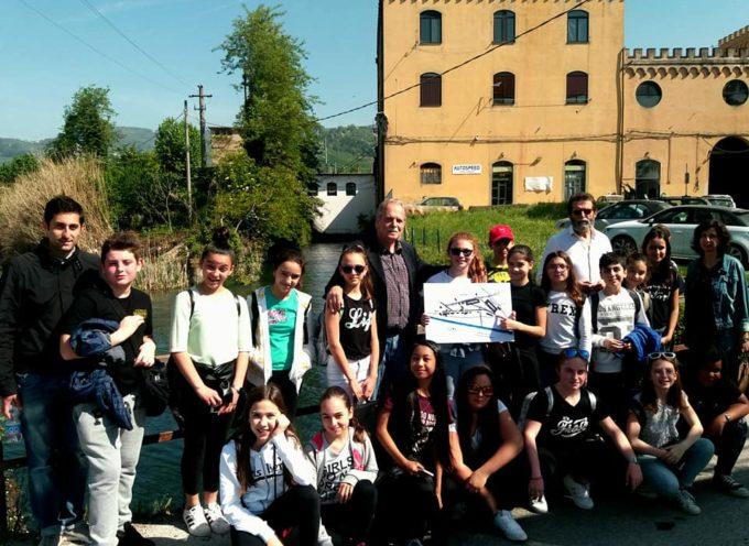 il consorzio di bonifica con la scuola visita il pubblico condotto