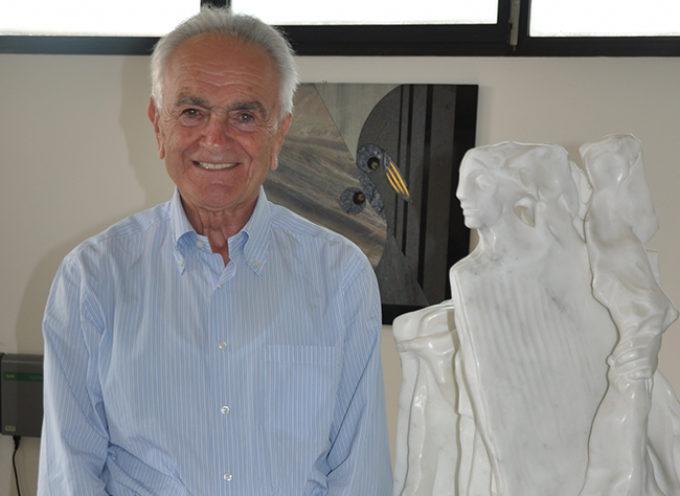 Il dottor Vando D'Angiolo cittadino onorario di Seravezza.