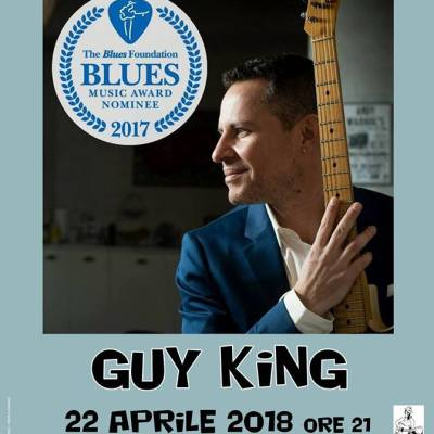 Guy King Band chiude il Lucca Blues Festival