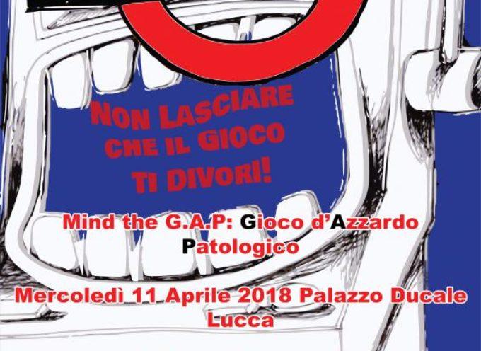 """GIOVANI: CON """"MIND THE GAP"""" A PALAZZO DUCALE  SI PARLA DEL FENOMENO DEL GIOCO D'AZZARDO PATOLOGICO"""