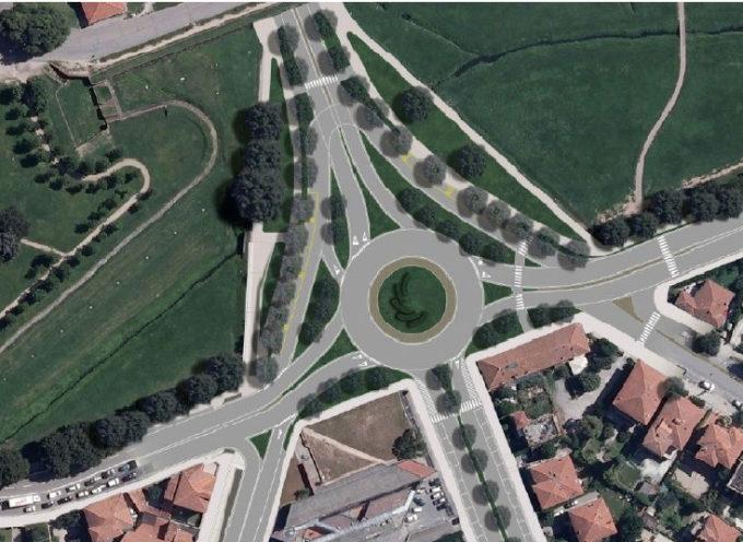 iniziano  i lavori per la rotatoria a Porta Sant'Anna