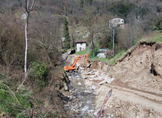 Continuano gli interventi del Consorzio sul Rio Usceto a Gallicano